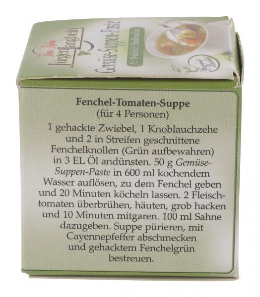 Jürgen Langbein Gemüse-Suppen-Paste