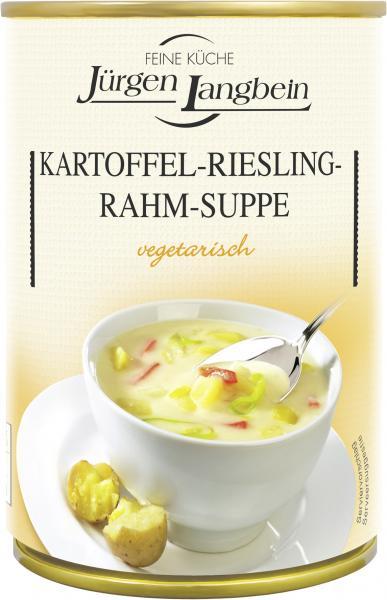 Jürgen Langbein Kartoffel-Riesling-Rahm-Suppe