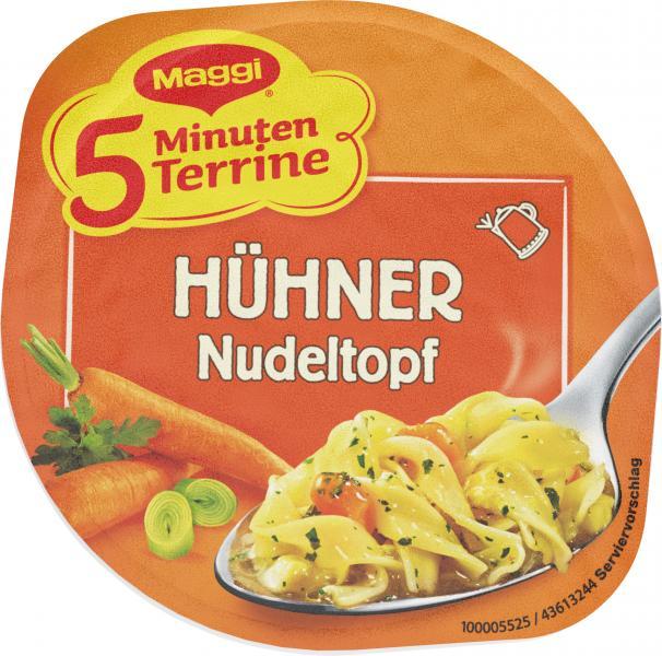 Maggi 5 Minuten Terrine Hühner-Nudeltopf