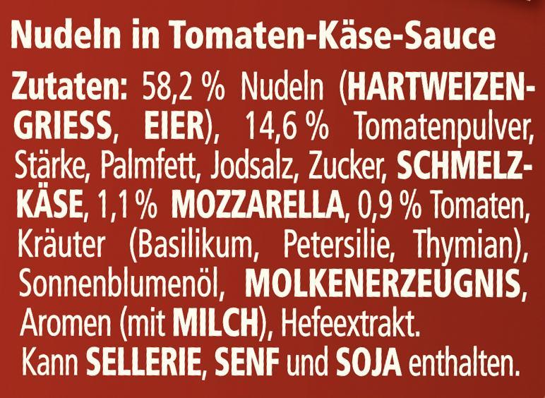 Maggi 5 Minuten Terrine Nudeln in Tomaten-Mozzarella Sauce
