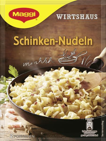 Maggi Wirtshaus Schinken-Nudeln