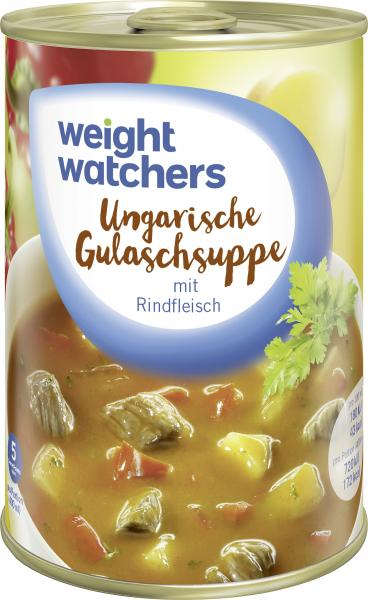 Weight Watchers Ungarische Gulaschsuppe