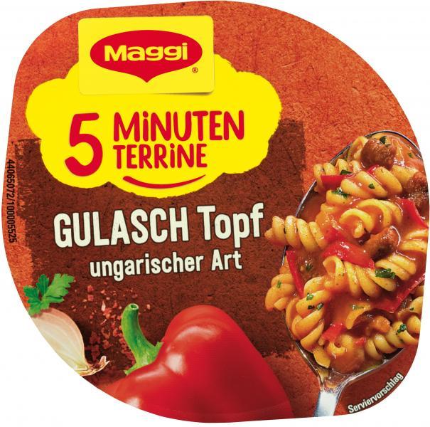 Maggi 5 Minuten Terrine Gulaschtopf ungarischer Art