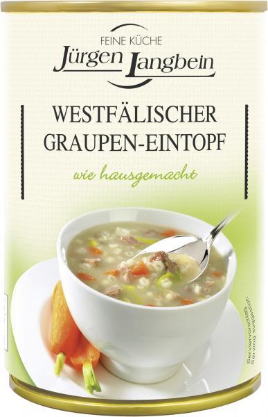 Jürgen Langbein Westfälischer Graupen-Eintopf