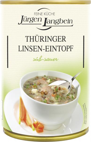 Jürgen Langbein Thüringer Linsensuppe