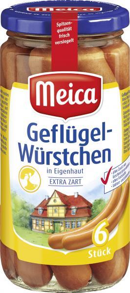 Meica Geflügel-Würstchen