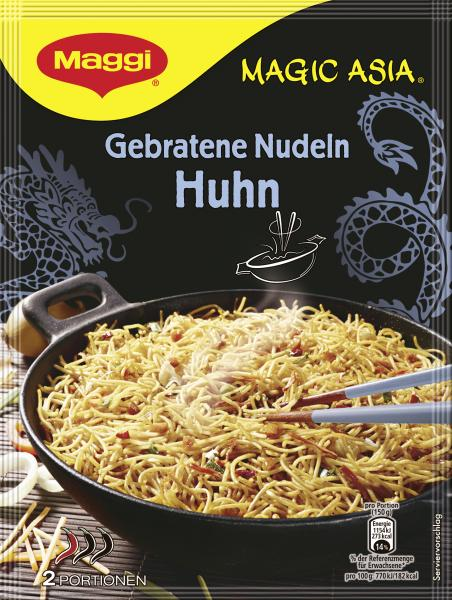 Maggi Magic Asia Gebratene Nudeln Huhn