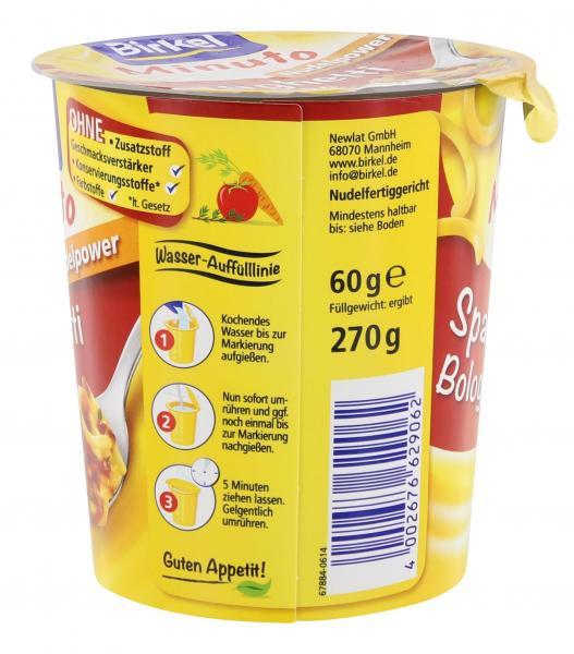 Birkel Minuto Spaghetti Bolognese
