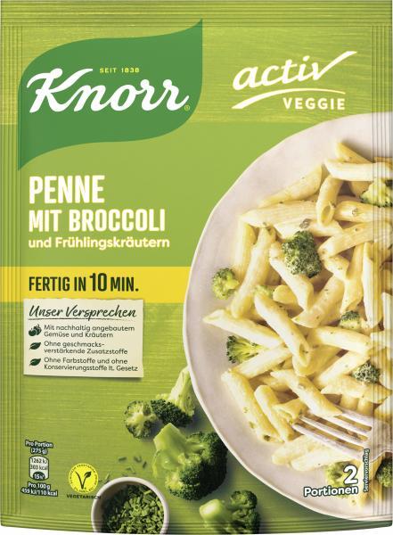 Knorr Veggie Penne mit Broccoli