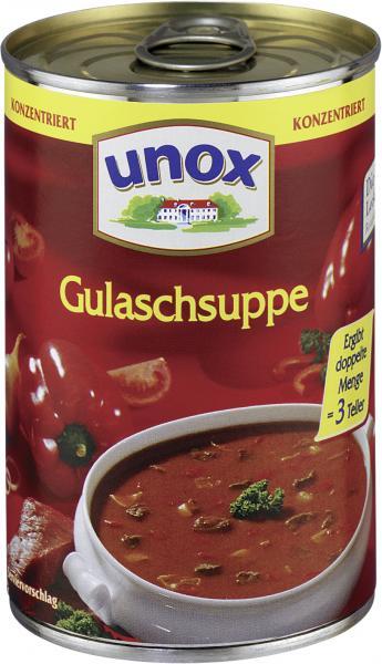 Unox Gulaschsuppe