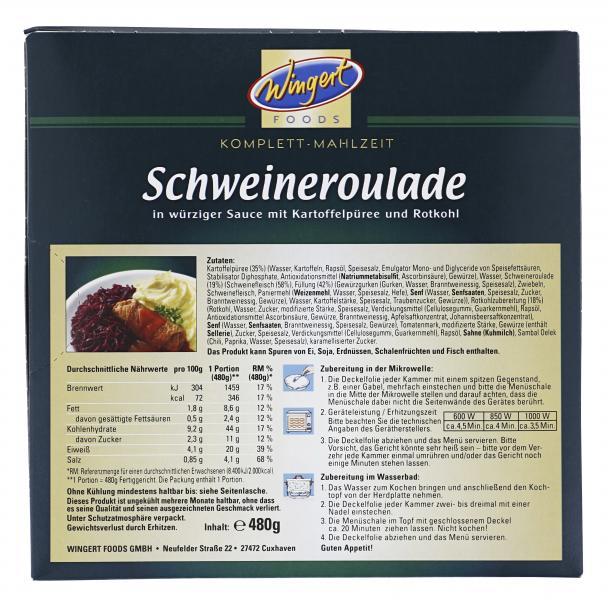 Wingert Foods Schweineroulade