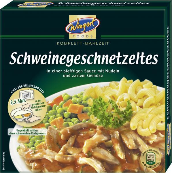Wingert Foods Schweinegeschnetzeltes in Pfeffersauce