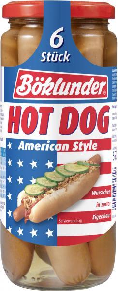 Böklunder Hot Dogs