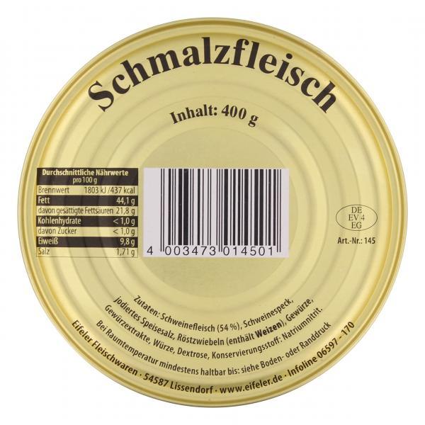 Eifel Schmalzfleisch