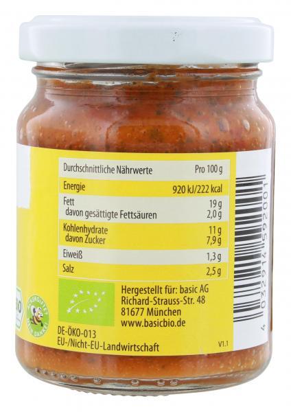 Basic Brotaufstrich Basilikum Tomate