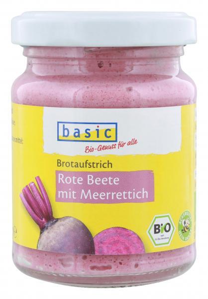 Basic Brotaufstrich Rote Bete mit Meerrettich