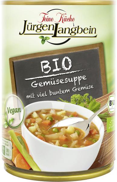 Jürgen Langbein Bio Gemüsesuppe