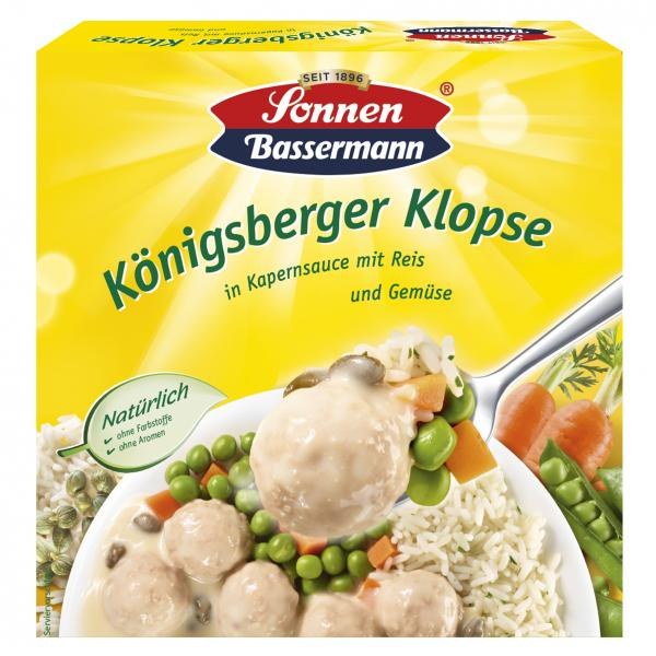 Sonnen Bassermann Königsberger Klopse
