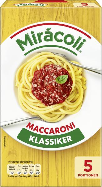 Mirácoli Maccaroni mit Tomatensauce