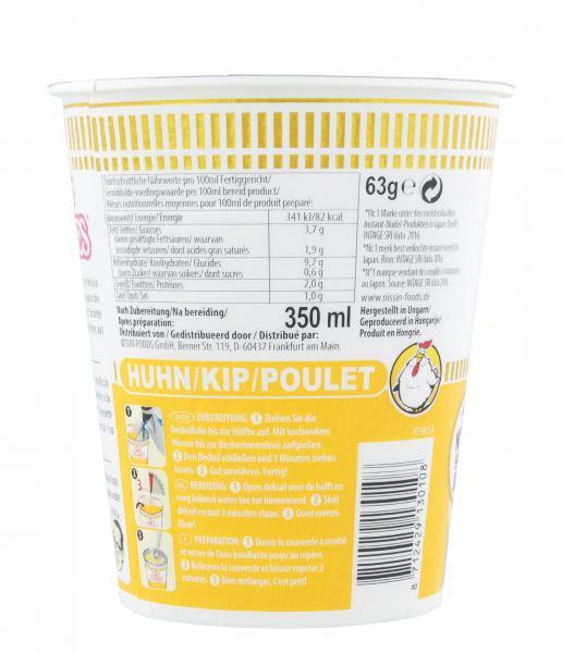Nissin Cup Noodles Huhn