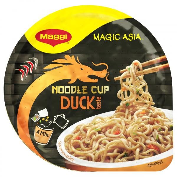 Maggi Magic Asia Noodle Cup Duck