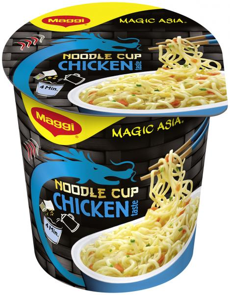 Maggi Magic Asia Noodle Cup Chicken Becher