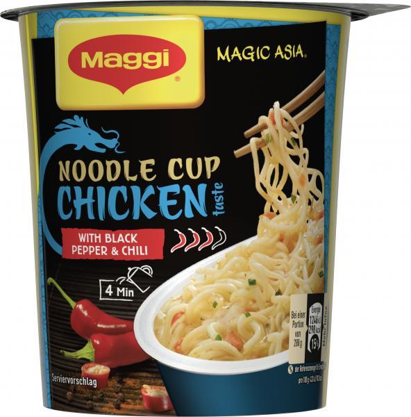 Maggi Magic Asia Noodle Cup Chicken Black Pepper & Chili