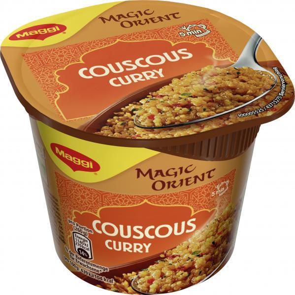 Maggi Magic Orient Couscous Curry
