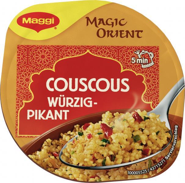 Maggi Magic Orient Couscous würzig-pikant Becher
