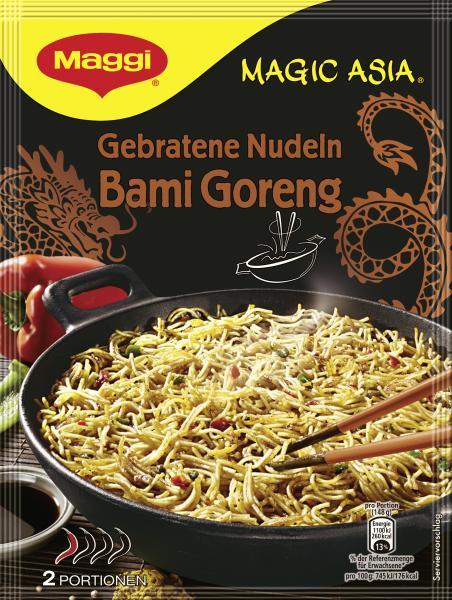 Maggi Magic Asia Gebratene Nudeln Bami Goreng