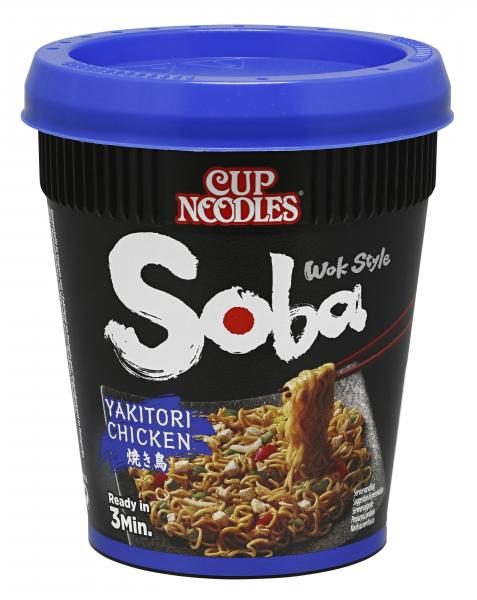 Nissin Cup Noodles Soba Yakitori Chicken