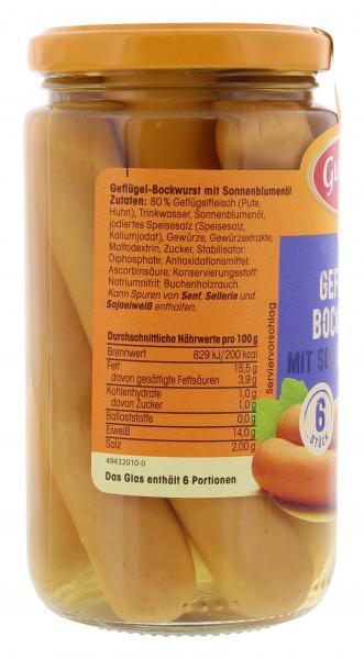 Gutfried Geflügel-Bockwurst
