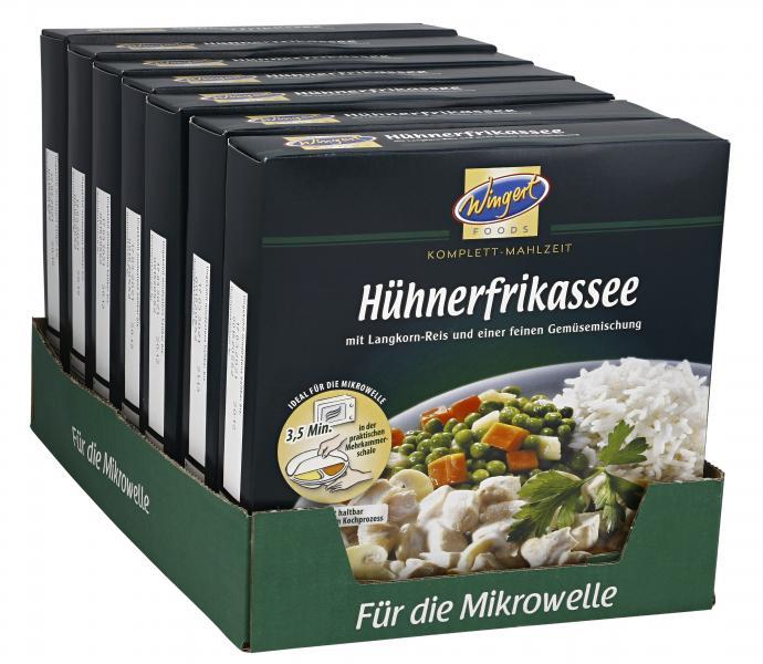 Wingert Foods Hühnerfrikassee