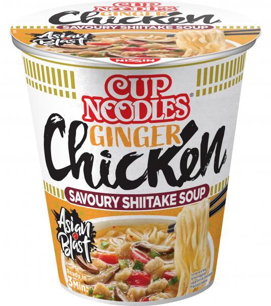 Nissin Cup Noodles Ginger Chicken