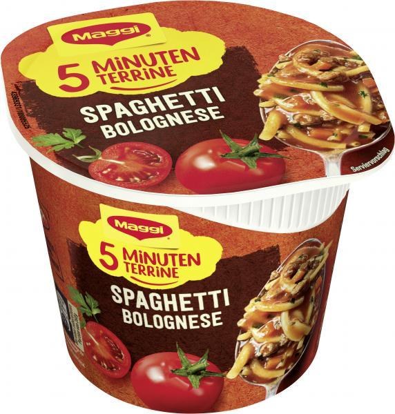 Maggi 5 Minuten Terrine Spaghetti Bolognese