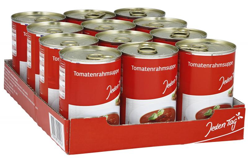 Jeden Tag Tomatenrahmsuppe