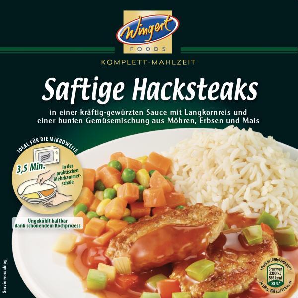 Wingert Foods Saftige Hacksteaks