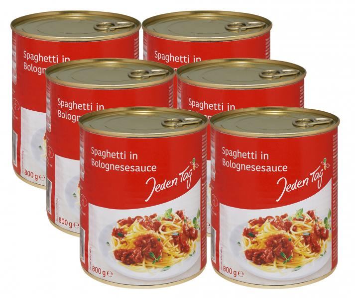 Jeden Tag Spaghetti Bolognese