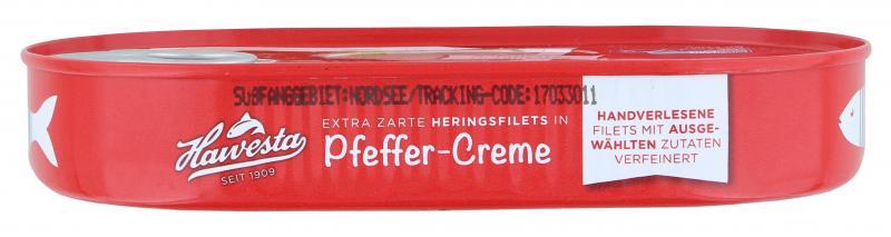 Hawesta Heringsfilets in Pfeffer-Creme