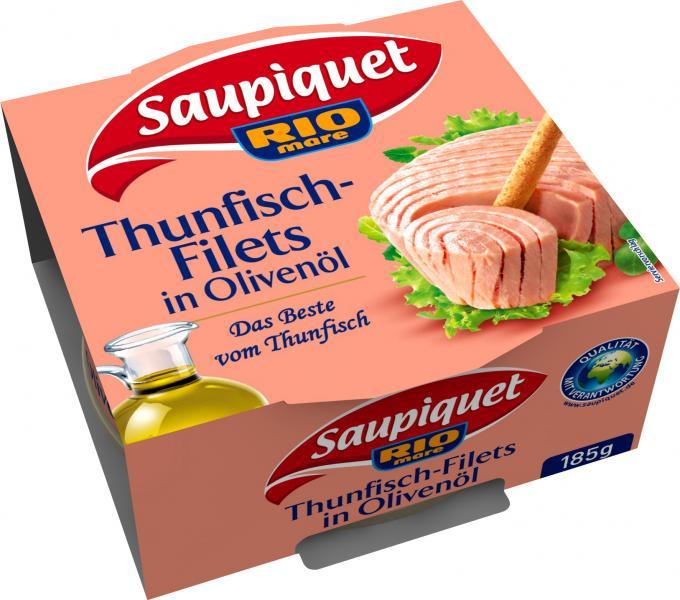Saupiquet Thunfischfilets in Olivenöl