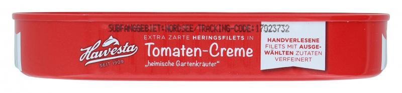 Hawesta Heringsfilets in Tomaten-Creme