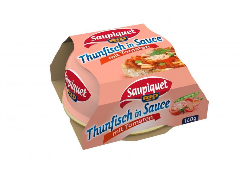Saupiquet Thunfisch in Sauce mit Tomaten