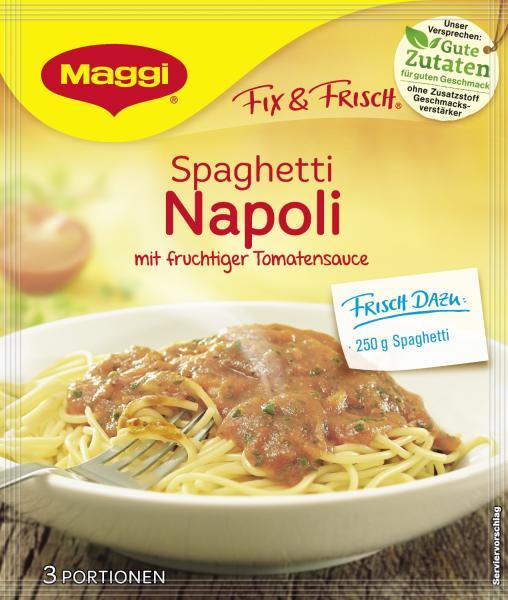 Maggi fix & frisch Spaghetti Napoli