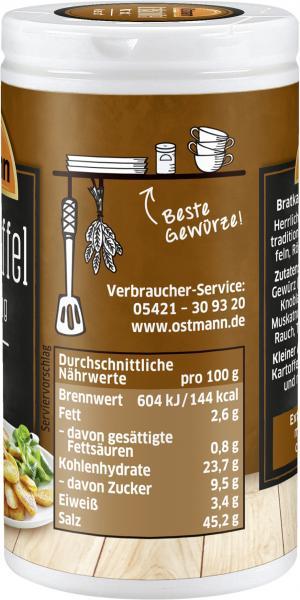 Ostmann Bratkartoffel Würzermischung klassisch