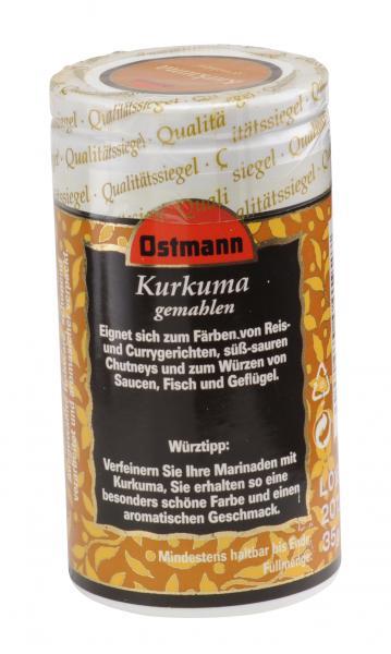 Ostmann Kurkuma gemahlen