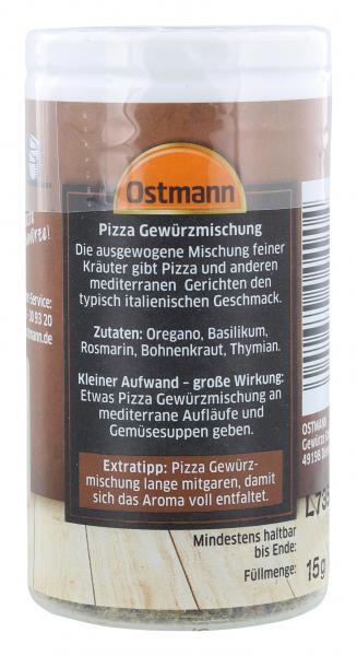 Ostmann Pizza Gewürzmischung