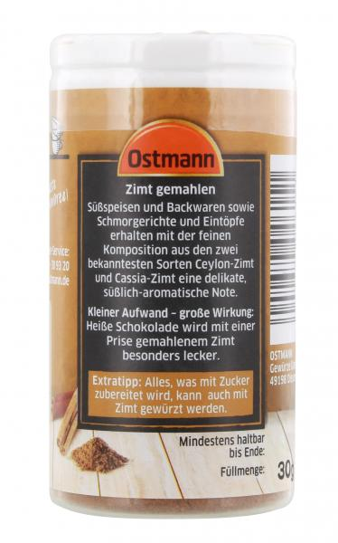 Ostmann Zimt gemahlen
