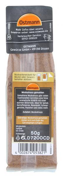 Ostmann Muskatnuss Gemahlen Online Kaufen Bei Combi De