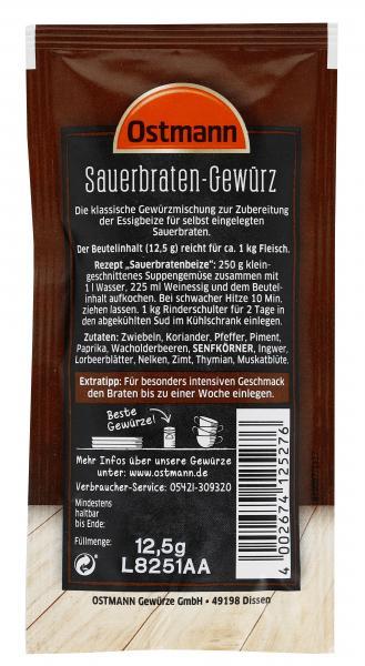 Ostmann Sauerbraten Gewürz