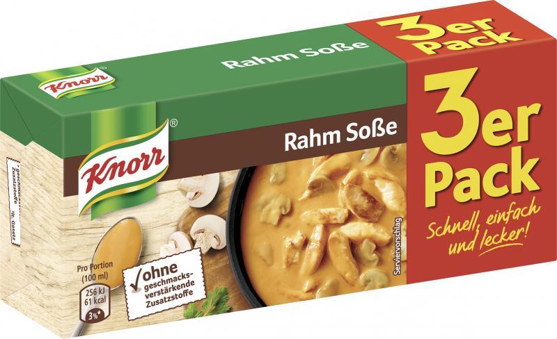 Knorr Rahm Soße